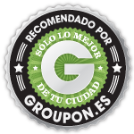 Groupon Sello de aprobacin